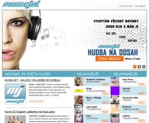 MusicJet - web